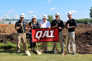 QA1 Groundbreaking