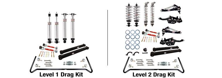 QA1 Full Vehicle Drag Suspension Kits